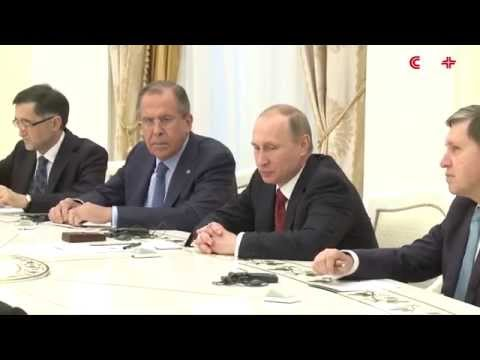 Putin Meets FMs of Shanghai Cooperation Organization Members