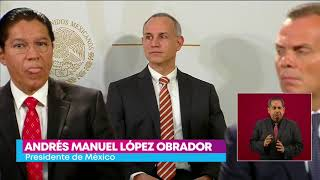 López Obrador Defiende A Hugo López Gatell, Pide No Mezclar Diferencias Políticas   Yuriria Sierra
