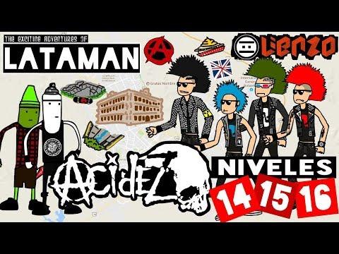 #LATAMAN - NIVELES 14, 15 Y 16 (#NEGAMES)
