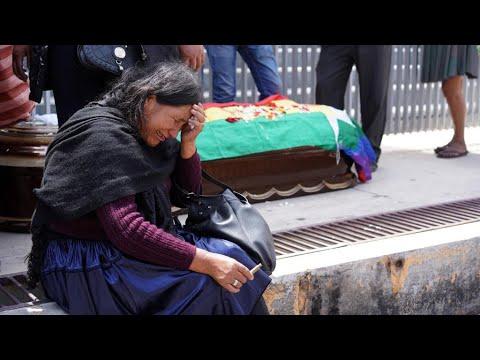 بوليفيا: ارتفاع حصيلة قتلى الاحتجاجات إلى 23 شخصا وسط تحذيرات أممية  - نشر قبل 39 دقيقة