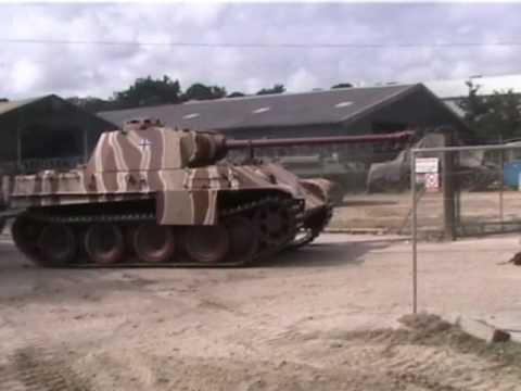 PANTHER Panzer V Tank at Bovington Tankfest 2008
