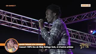 Revivez la Finale des Talents d'or avec Wally Seck au esplanade du Grand Théâtre