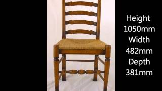 Ladder Back Chair Video