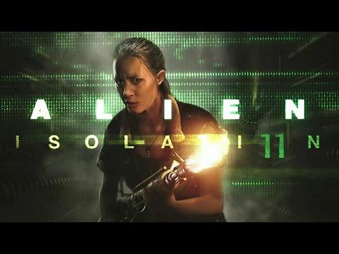 Zagrajmy w: Alien: Isolation #11 [Zakończenie] - Ripley, signing off [Obcy: Izolacja Gameplay PL]