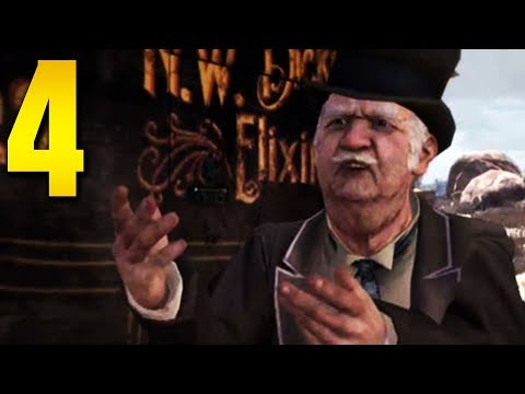 "Red Dead Redemption - Part 4 ""NIGEL WEST DICKENS"" (Gameplay/Walkthrough)"
