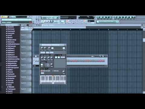 How To Make a West Coast Sine/Whistle (Dr Dre) Fl Studio 11