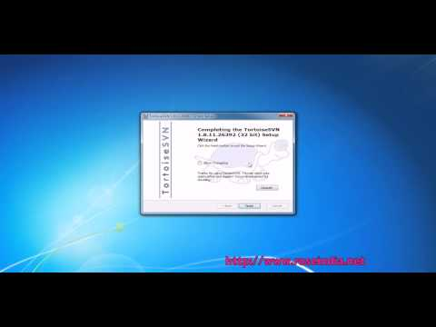 How to Install Tortoise SVN in Windows 7?