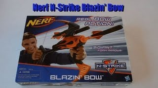 ~Unboxing~ NEW! Nerf N-Strike Blazin' Bow Unboxing Video ~Unboxing~