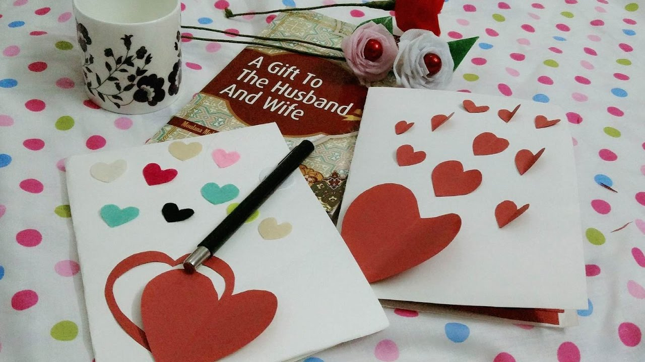 Diy Make Your Own Greeting Card Youtube