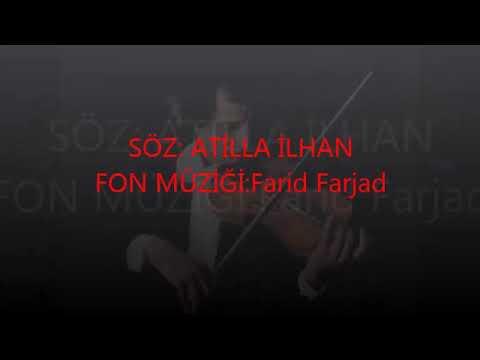 ÜÇÜNCÜ ŞAHSIN ŞİİRİ-ATİLLA İLHAN (fon müzik+sözler)