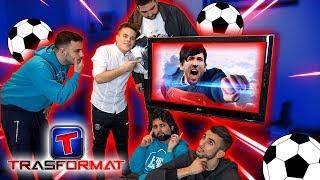 TRASFORMAT con i CALCIATORI!!! - INDOVINA IL CALCIATORE CHALLENGE w/ Fius Gamer, Ohm, T4tino23