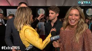 Kelsea Ballerinis Interview Gets Crashed by The Chainsmokers