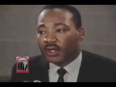 Martin Luther King, Jr. for President?  His Answer