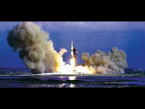 Apollo (SATURN V) launches in 60FPS HD w/ AUDIO