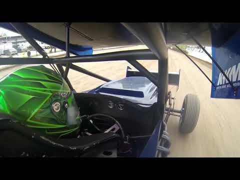 Rico Abreu Hot Laps at Eldora Speedway