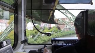 Вид из кабины машиниста метро Вупперталера, германия(Vohwinkel Hauptbahnhof Mitfahrt GTW 72 Teil 1 Wuppertaler Schwebebahn., 2015-03-06T13:23:28.000Z)