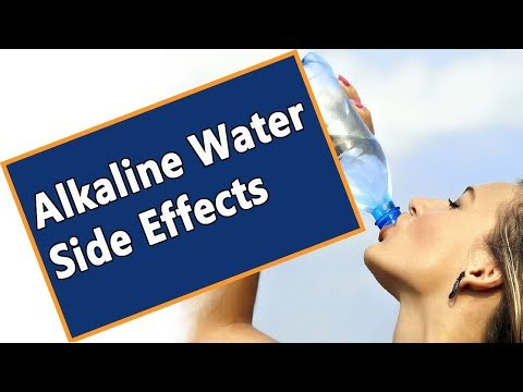 Alkaline Water Side Effects