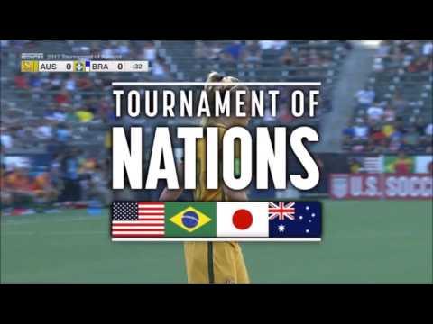 2017 Tournament Of Nations: Australia Vs. Brazil