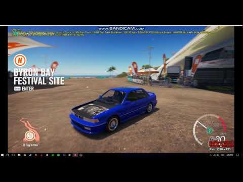 Forza Horizon 3 Removing Hood MOD
