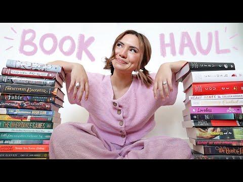 HUGE BOOK HAUL!!