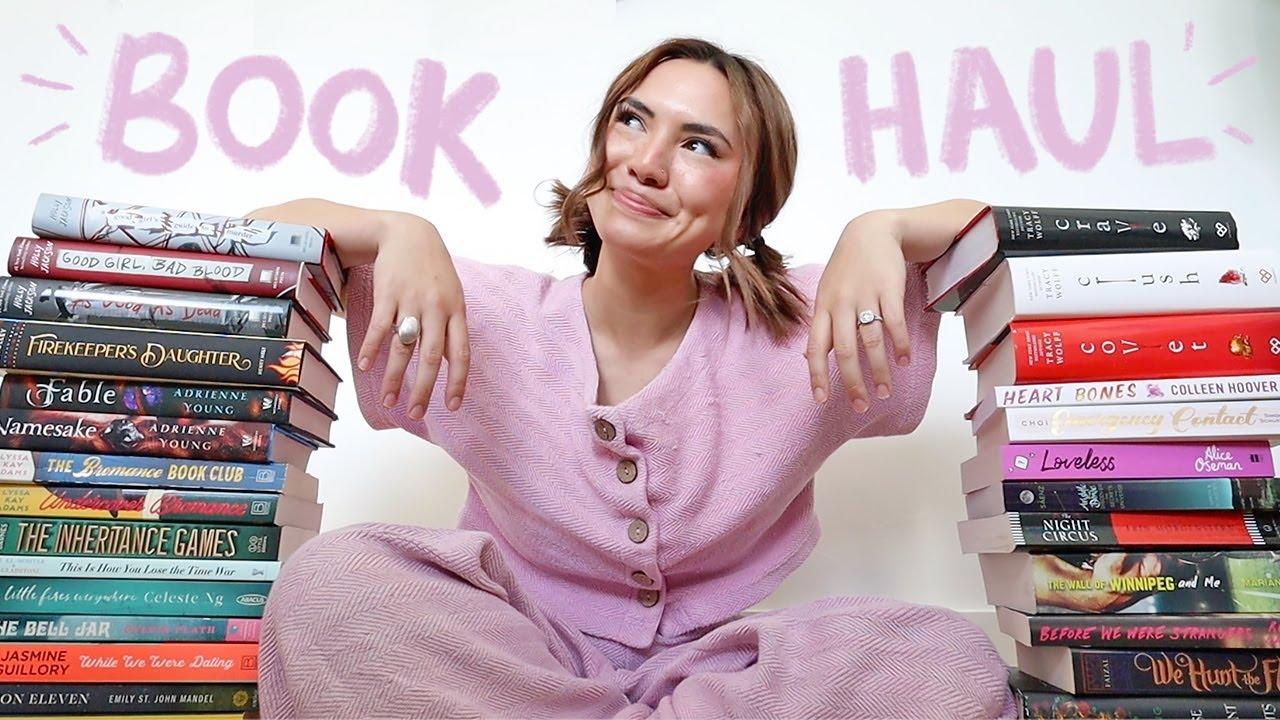 Download HUGE BOOK HAUL!!
