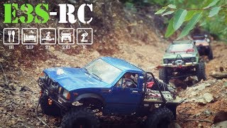 E3S-RC/TOYOTA Hilux Team /RC4WD-SCX10-RCMODELex /Off road adventure, Extreme fun at the jungle