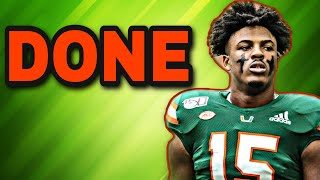Miami Hurricanes DE GREGORY ROUSSEAU opts out of 2020 Season! Big Deal or Nah?
