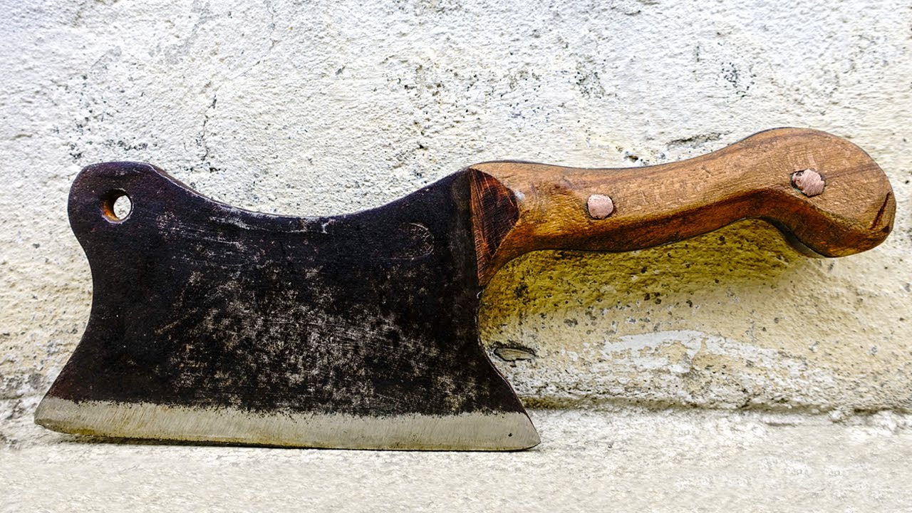 Restoration And Renovation Of Antique Cleaver