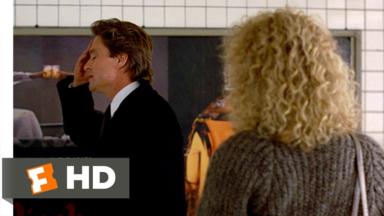 Fatal Attraction (4/8) Movie CLIP - Alex Is Pregnant (1987) HD