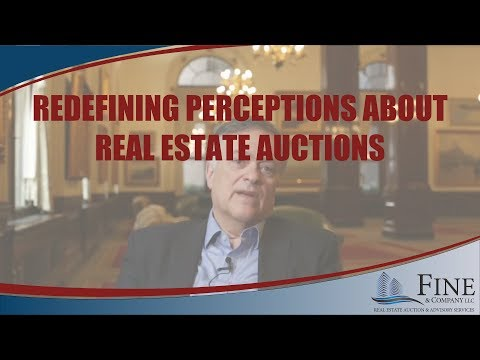 Changing Perceptions About Real Estate Auctions
