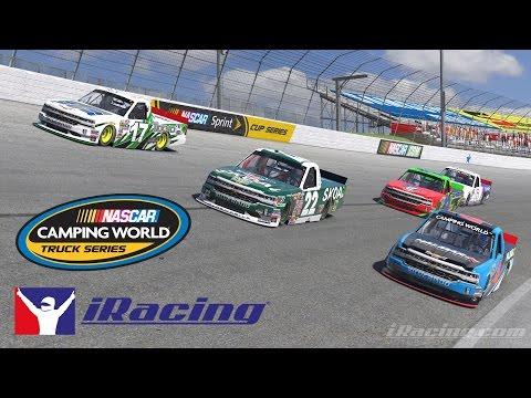 iRacing - Camping World Truck Series at Texas Motor Speedway