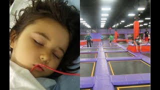 This Little Girl Had A Serious Accident At A Trampoline Park, And Now Her Mom Is Warning Others