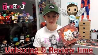 Funko Pennywise Metallic Pop and T Shirt Review Unboxing Funko J