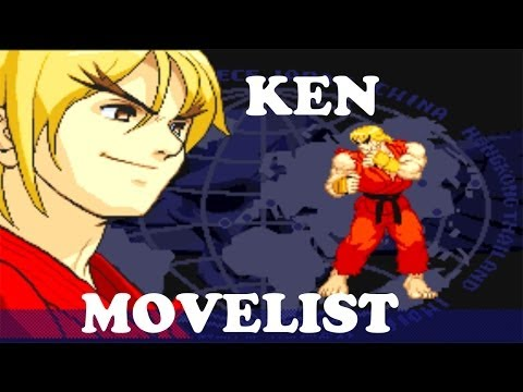 Street Fighter Alpha 3 - Ken Move List