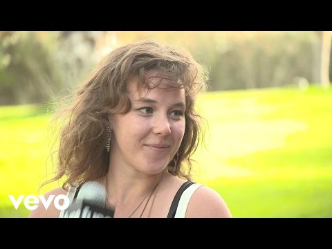 Purity Ring - Fuse Interview (Coachella 2013)