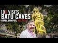 10X Visits the Batu Caves of Kuala Lumpur Malaysia