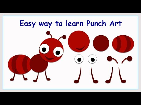 Punch Art Ant   Paper Crafting   Stamping   Card making   Scrap booking