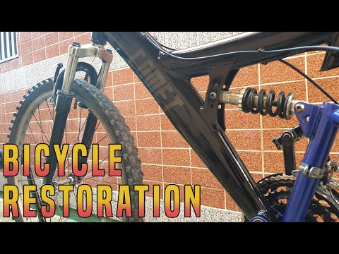 Old Bicycle Restoration Part2
