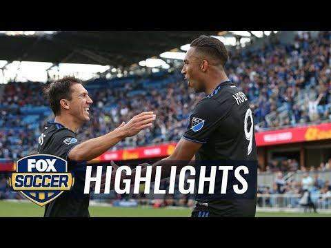 San Jose Earthquakes vs. Portland Timbers | 2019 MLS Highlights