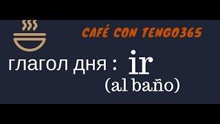 Испанский язык под кофеёк. Слово дня IR(al baño)