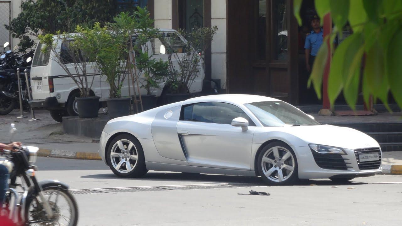 Supercars Bangalore (March 2015)   Ferrari FF, 458, 348, BMW I8, Aventador,  GTR U0026 More..   YouTube