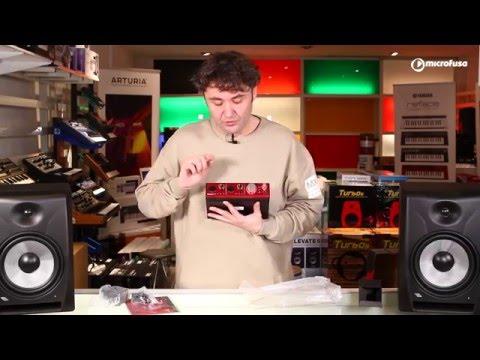 Unboxing Interface de audio Thunderbolt, Focusrite Clarett 2 Pre en Microfusa Madrid