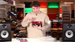 Unboxing Interface de audio Thunderbolt, Focusrite Clarett 2 Pre en Microfusa Madrid