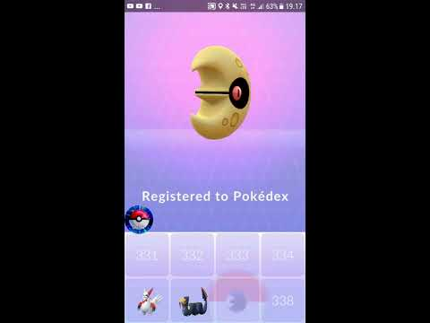 Pokémon Go - Gen 3 -  Catching Lunatone