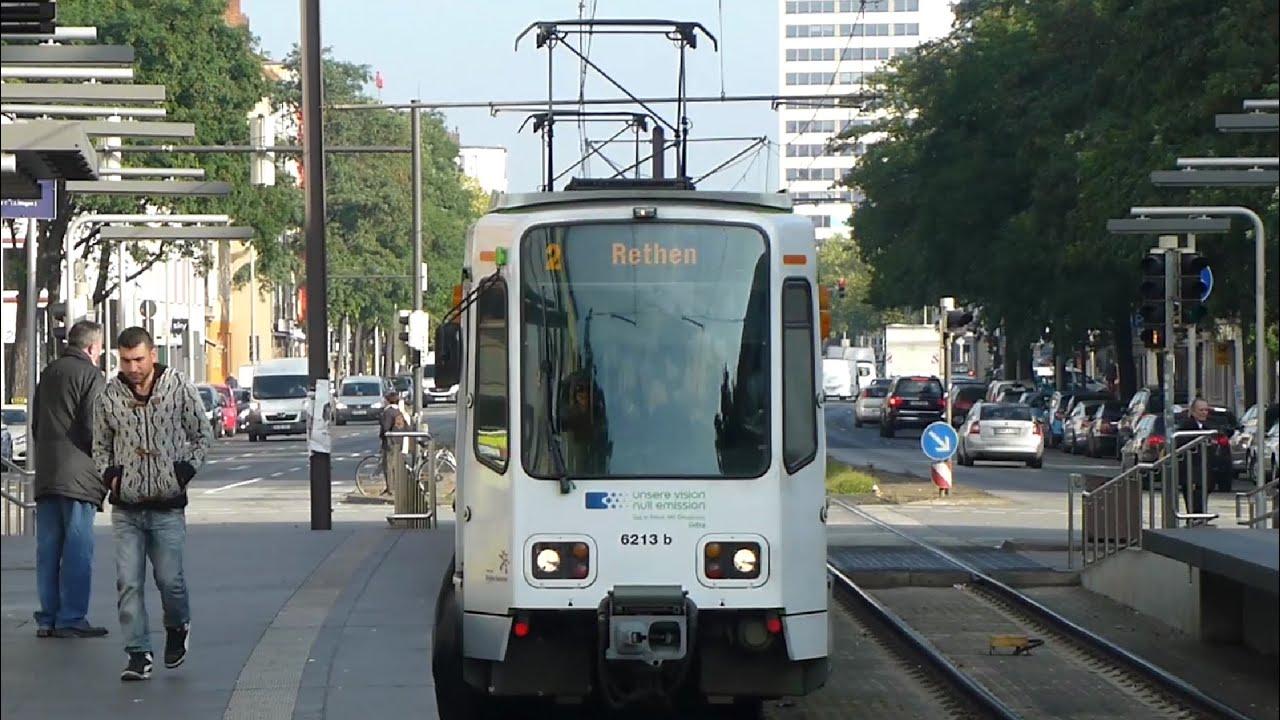 Linie 2 Vahrenwalder Platz Stadtbahn Hannover Youtube