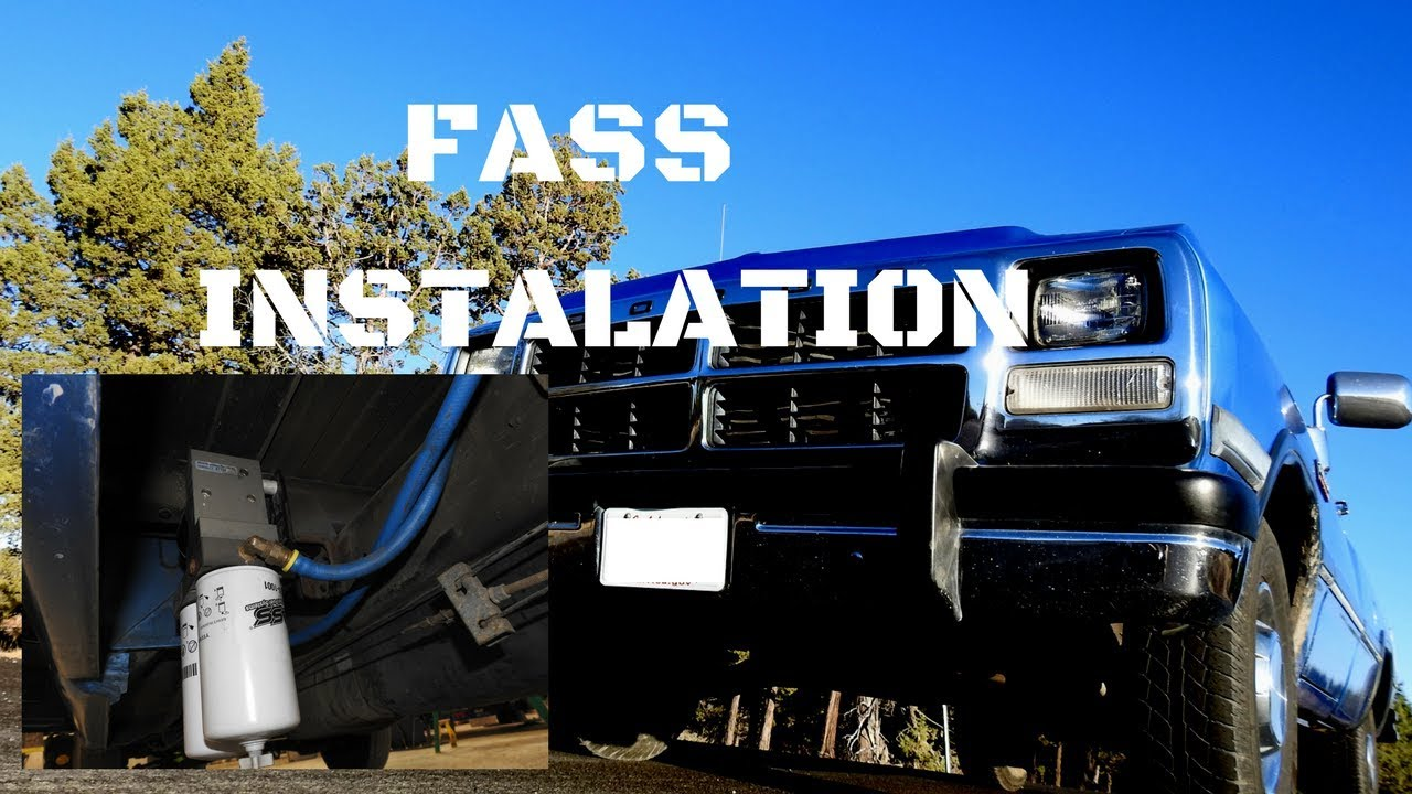 Fass Fuel Pump Installation