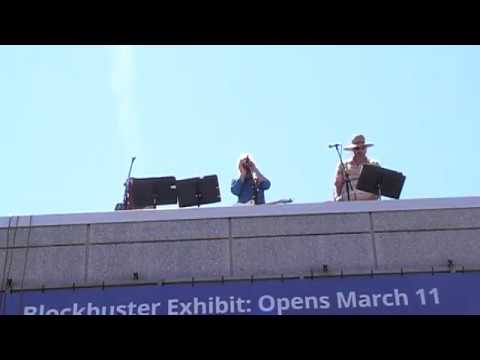 Putnam Museum Rooftop Tribute to The Beatles Part 1 of 6
