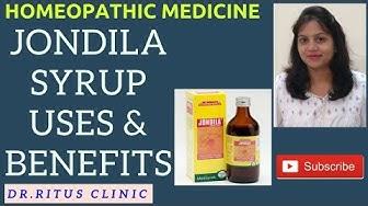 Jondila - Jondila Syrup , digestive & liver tonic ,  Homeopathy Medicine Uses & Symptoms In Details
