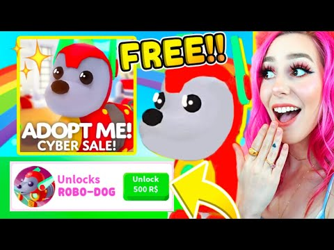 How To Get A FREE ROBO-DOG in Adopt me! on Roblox