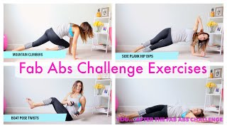How To | Fab Abs Exercises
